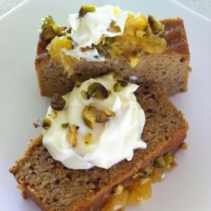 GF Orange Almond Cake