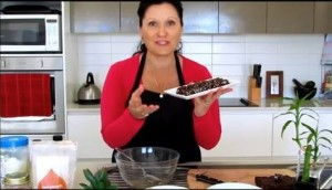Viki in the kitchen