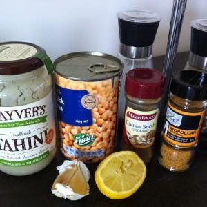 Spicy Hummus MindBodyFood Style!