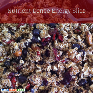 Naturally Sweetened Energy Slice Recipe