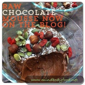 Healthy Chocolate Mousse | Dairy & Sugar Free, Vegan, Paleo