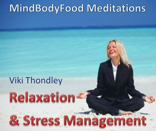 Meditation Relaxation & Stress Mgt CD cover