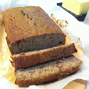 Gluten Free Grain Free Banana Bread Recipe