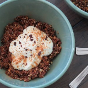 Nutty Choc Granola Recipe