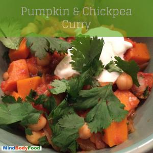 Pumpkin & Chickpea Curry [Recipe]