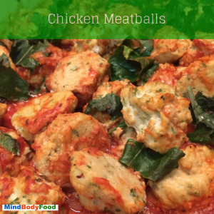 Chicken Meatballs [Recipe]