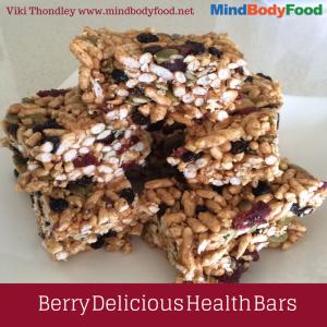 Berry Delicious Health Bars