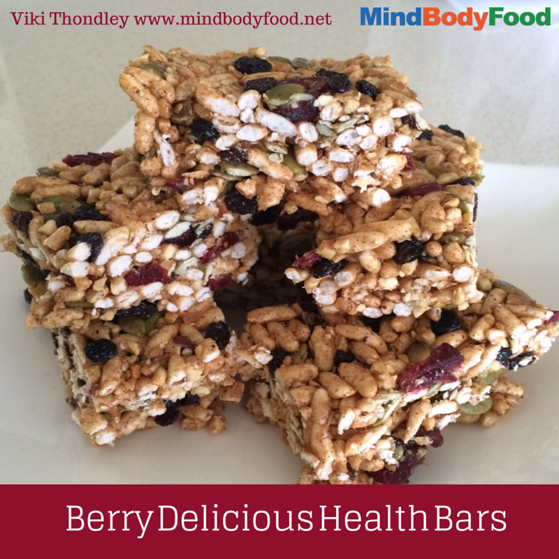 Berry Delicious Health Bars