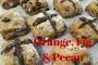 Orange, Fig and Pecan Healthy Hot Cross Buns