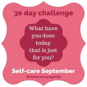 Self-Care September - [Guest Post By Harmony Agenda]