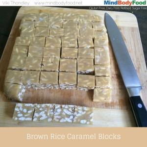 Brown Rice Caramel Blocks Recipe