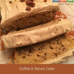 Spelt Coffee & Pecan Cake Recipe