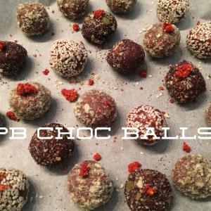PB Choc Balls Recipe